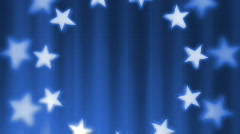 Stars And Stripes looping background - stock footage