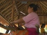 Weaving 1 Stock Footage