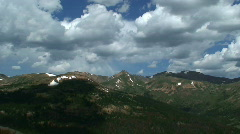 High Mountain Cloud Time Lapse - stock footage