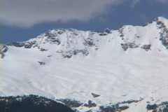 Tantalus Range Pan Stock Footage