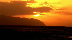 sunset HQ  - stock footage