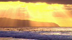 Sun rays HQ  - stock footage