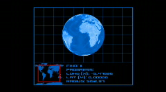 Earth Tracking System v0.2 - USA ( HD720) Stock Footage