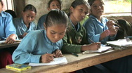 Stock Video Footage of Nepal: School Stock Footage