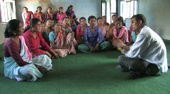 Nepal: Adult Education in Nepal - stock footage