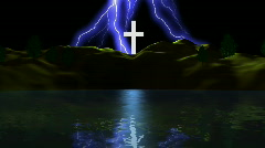 Enlightened Cross Stock Footage