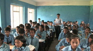 Stock Video Footage of Nepal: Teacher and students in class