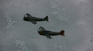 Stock Video Footage of World War II fighters