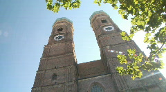 Frauenkirche in Munich - stock footage