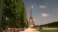 Stock Video Footage of The Eiffel Tower