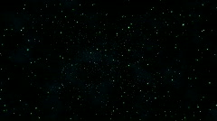 Stars and Hyperspace - stock footage