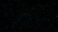 Stars and Hyperspace Stock Footage