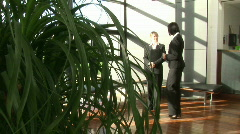 Greeting a Delegation Stock Footage