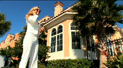 Real estate agent - stock footage