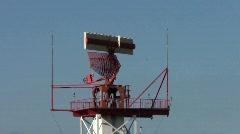 Airport Radar Stock Footage