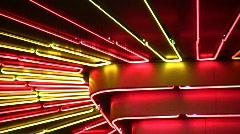 Stock Video Footage of Night neon light