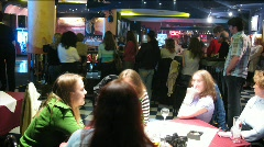 Night club time lapse Stock Footage