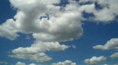 Cloud time lapse Stock Footage