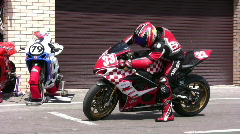 Sport bike Stock Footage