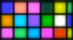 Party Lights - stock footage