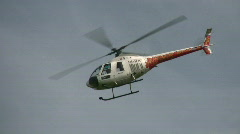Helicopter killer loop Stock Footage