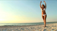 Beach Lifestyle Stock Footage