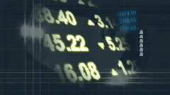 Stocks Background - stock footage