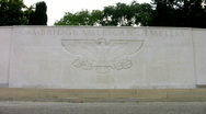 Stock Video Footage of Cambridge American Military Cemetery Madingley Cambridgeshire England UK