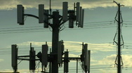 Cell Tower Stock Footage