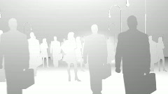 Business People Animation Stock Footage