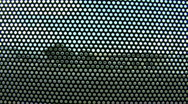 Mesh On Glass 5 Stock Footage