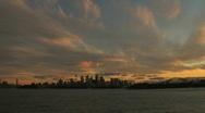 Sydney Skyline Timelapse Stock Footage