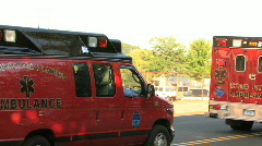 Fire Department's EMS Stock Footage