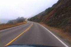 Highway 101 Drive Stock Footage