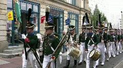 200 years Congress of Erfurt Stock Footage