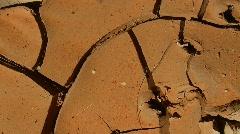 Dirt mudcracks cg Stock Footage