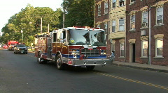 Fire Fighter Parade Stock Footage