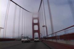Golden Gate Bridge Day Time Lapse in San Francisco Stock Footage