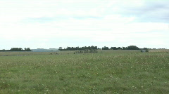 Stonehenge, zoom in Stock Footage