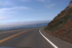 Highway 101 Driving Time Lapse Stock Footage