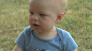 Stock Video Footage of Infant Male 9 month old outside (8 of 12)