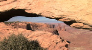 Stock Video Footage of Canyonlands National Park, Mesa Arch