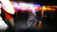 Stock Video Footage of kazantip dancers festival rave music people club disco crowd