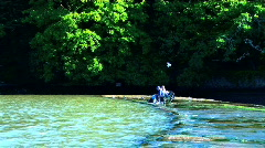 A quiet days fishing Stock Footage