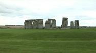 Stonehenge, close up Stock Footage