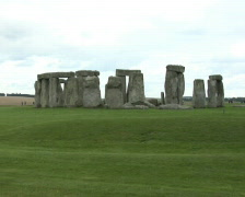 Stonehenge, close up - stock footage