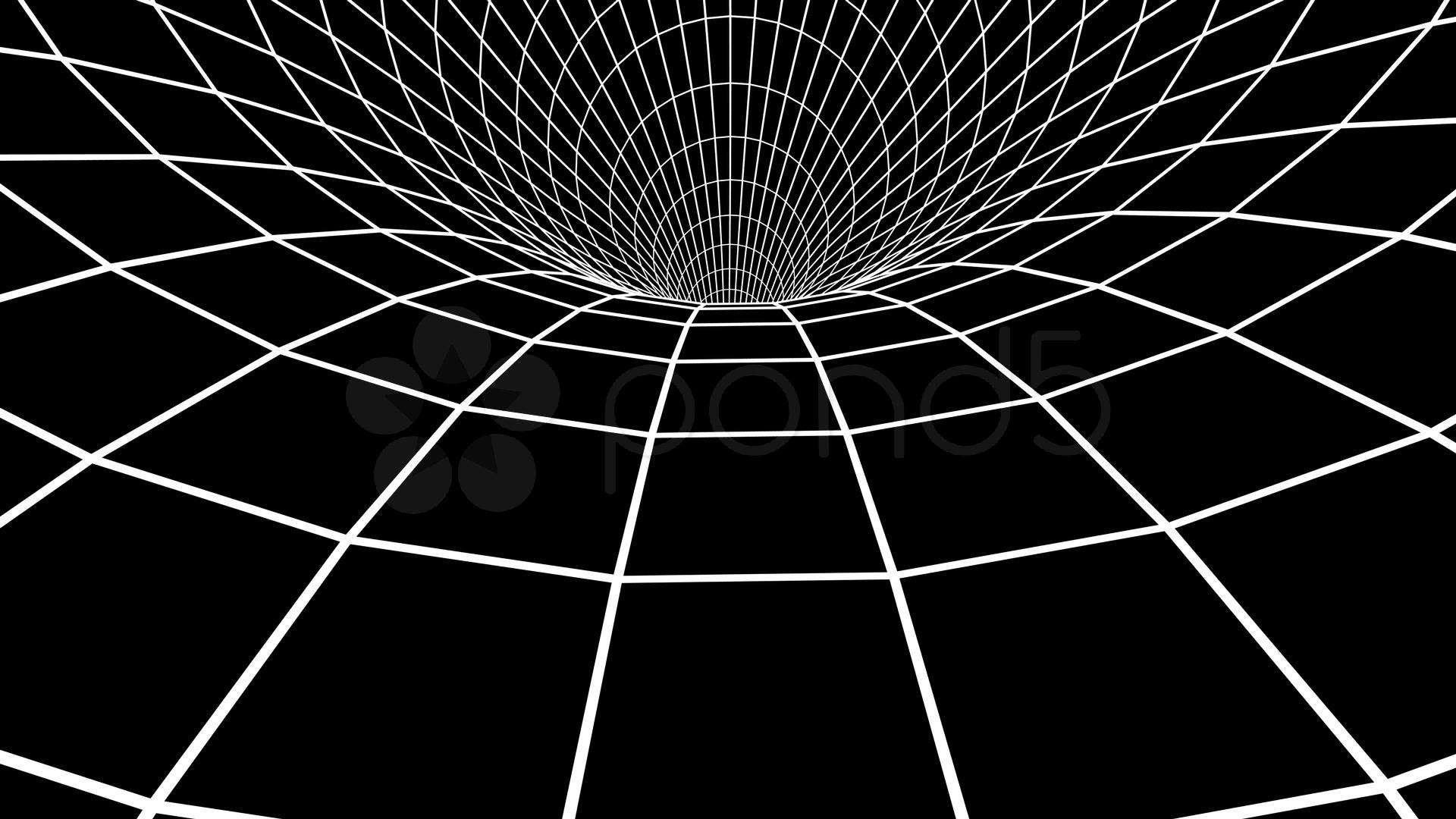 Vortex/wormhole On Black Stock Video 265563   HD Stock Footage