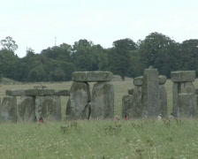 Stonehenge, long shot Stock Footage