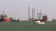 Stock Video Footage of fishing & crew boats