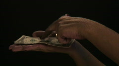 Give me money honey! Stock Footage